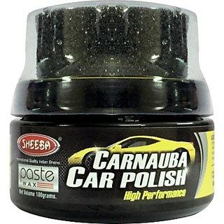 Sheeba Car Polish Wax (100 gms)