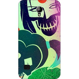 Go Hooked Designer Soft Back Cover For LYF Flame 2 + Free Mobile Stand (Assorted Design)