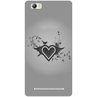 Go Hooked Designer Soft Back Cover For LAVA V5 + Free Mobile Stand (Assorted Design)