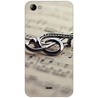 Go Hooked Designer Soft Back Cover For Micromax Unite 3 Q372 + Free Mobile Stand (Assorted Design)