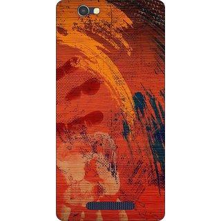 Go Hooked Designer Soft Back Cover For LAVA A72 + Free Mobile Stand (Assorted Design)