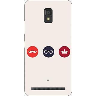 Go Hooked Designer Soft Back Cover For Lenovo A-6600 Plus