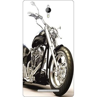 Go Hooked Designer Soft Back Cover For Panasonic P77 + Free Mobile Stand (Assorted Design)