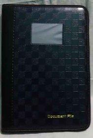 Design Leather Document Files Bags, Portfolio Files, folder ( Paper  Size - A4 )ahum cheq