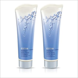 Ozone Perfect Skin Tone Face Wash + Perfect Skin Tone Hydrant