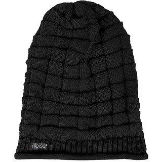 e9e1f1d65cd Buy RD 72 Raj 72 Deals Black Knitted Slouchy Beanie