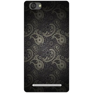 Go Hooked Designer Soft Back Cover For LYF Flame 1 + Free Mobile Stand (Assorted Design)