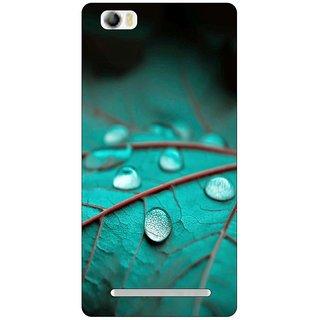 Go Hooked Designer Soft Back Cover For LAVA V5 + Free Mobile Stand (Assorted Design)