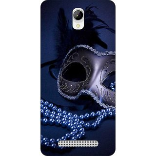 Go Hooked Designer Soft Back Cover For LAVA A56 + Free Mobile Stand (Assorted Design)