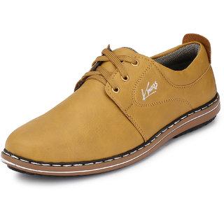 buy knoos men beige laceup casual shoes online  get 66 off