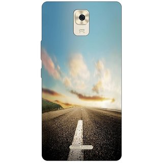 Go Hooked Designer Soft Back Cover For Gionee P7 Max + Free Mobile Stand (Assorted Design)