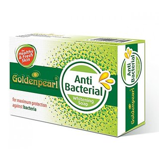 GOLDEN PEARL ANTI BACTERIAL WHITENING SOAP (FOR PIMPLES)