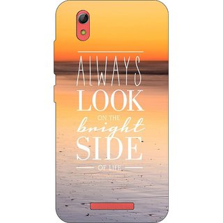 Go Hooked Designer Soft Back Cover For Gionee Pioneer P5L + Free Mobile Stand (Assorted Design)