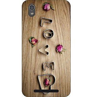 Go Hooked Designer Soft Back Cover For Gionee F-103 With Free Mobile Stand