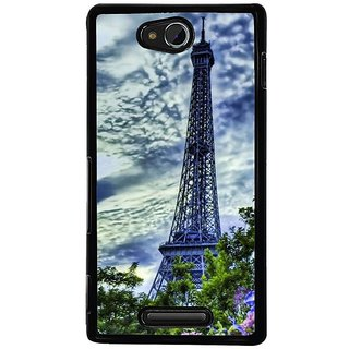 Fuson Designer Phone Back Case Cover Sony Xperia C ( A Majestic View )