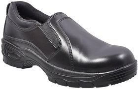 FR10 black formal saftey shoes