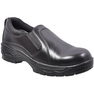 FR10 black formal saftey shoes