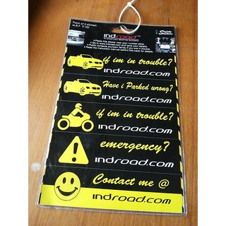 INDroad - Safety Stickers For Cars Bikes
