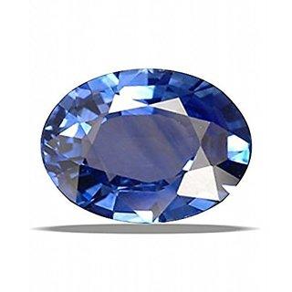 Jaipur Gemstone 9.00 ratti Blue Sapphire(neelam)