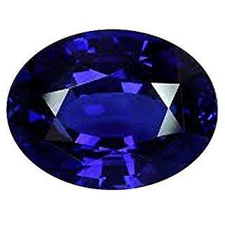 Jaipur Gemstone 10.25 ratti Blue Sapphire(neelam)