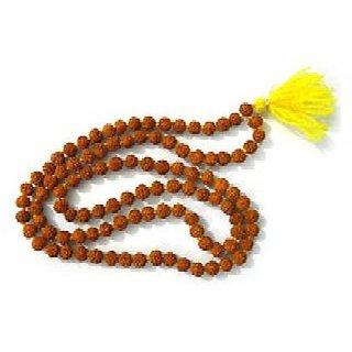 J F Brand Rudraksha 108 Prayer Beads 8mm Meditation Mala