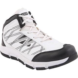 Yepme Evo Sports Shoes - Black & White