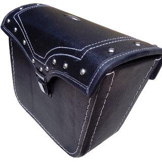 Bike Stylish Side Carrier Bag - Gloosy Surface- Branded Ekios