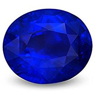Jaipur Gemstone 11.44 ratti Blue Sapphire(neelam)