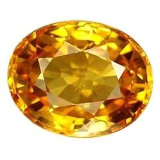Jaipur Gemstone 12.00 ratti yellow sapphire(pukhraj)