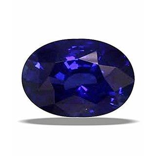 Jaipur Gemstone 8.44 ratti Blue Sapphire(neelam)
