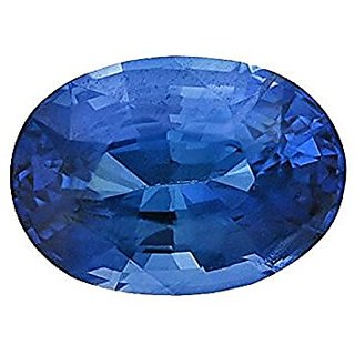 Jaipur Gemstone 9.44 carat Blue Sapphire(neelam)