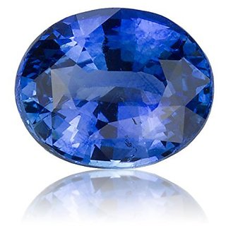 Jaipur Gemstone 6.25 carat Blue Sapphire(neelam)