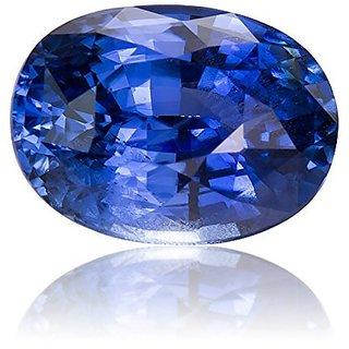 Jaipur Gemstone 6.00 ratti blue sapphire(neelam)