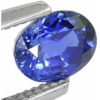 Jaipur Gemstone 10.50 ratti Blue Sapphire(neelam)
