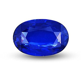Jaipur Gemstone 12.00 ratti Blue Sapphire(neelam)
