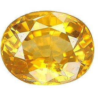 Jaipur Gemstone 6.25 ratti yellow sapphire(pukhraj)