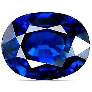 Jaipur Gemstone 7.25 ratti blue sapphire(neelam)