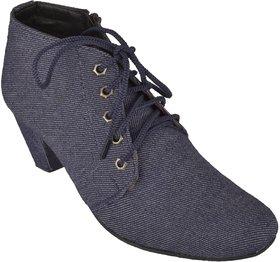 Exotique Women's Blue Casual Boot (EL0054BL)