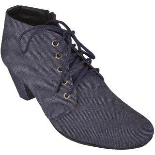 Exotique Womens Blue Casual Boot (EL0054BL)