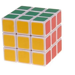 3x3 Rubik's cube (Good for mental Challenge) (Colour may Vary)