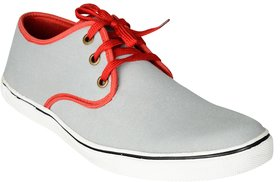 Exotique Men's Grey Sneaker-Casual Shoes (EX0044GY)
