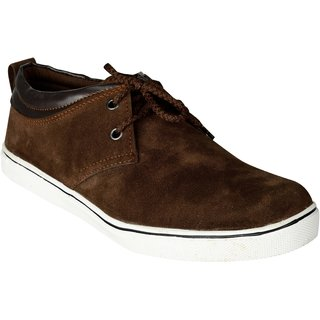 Exotique Men's Brown Casual Shoes (EX0046BR)