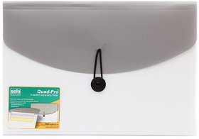 Solo Grey Expanding Folder - Pack Of 3