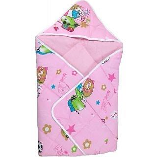 Love Baby Cotton Bath Dryrobe - 565 Pink