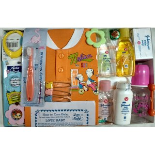 Love Baby Gift Set - Tinker Bell Pink
