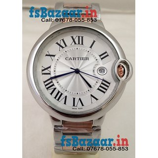 Cartier Ballon Bleu Mens Swiss Watch