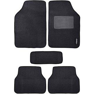 Leganza Tata Indigo eCS Rubber Car Mats Custom-built Black