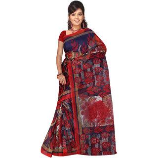 Riti Riwaz Multicolor Kota Doriya Printed Saree with Unstitched Blouse KDSR11