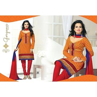 41879c687a51 Chanderi Cotton Dress Material Prices in India- Shopclues- Online Shopping  Store