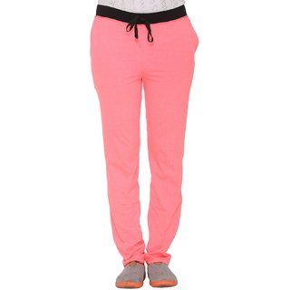 db26c35c Buy Vimal-Jonney Dark Pink Cotton Blended Trackpant For Women Online - Get  68% Off